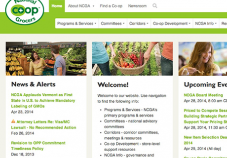 National Co+op Grocers Website